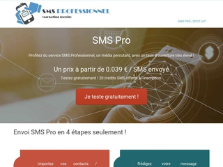 Campagne SMS Pro
