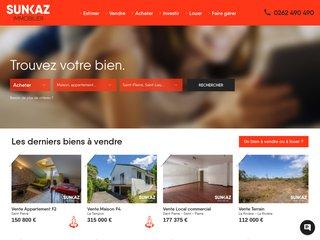 Sunkaz l'immobilier de l'Île de la Réunion
