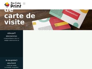 Bio color print