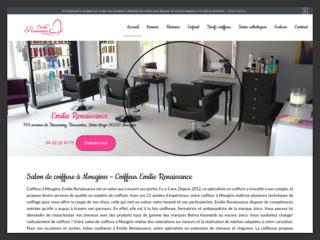 Salon de coiffure à Mougins d'Emilie Renaissance