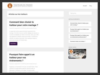 Blog des traiteurs en France