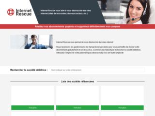 Internet Rescue, aide et assistance pour la résiliation de vos abonnements en ligne