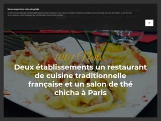 1001 nuit - salon de thé chicha paris 13ème
