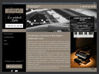 Cours de piano en Gironde