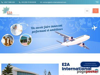E2A International : Tourisme de santé en Tunisie