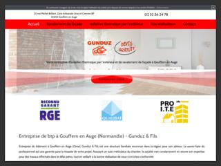 Gunduz :  Votre entreprise du bâtiment à Gouffern en Auge (Orne)