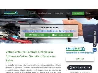 Contrôle technique à Épinay-sur-Seine (93)