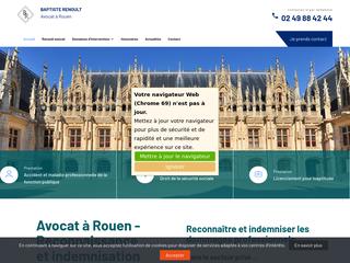 Avocat en licenciement pour inaptitude Rouen
