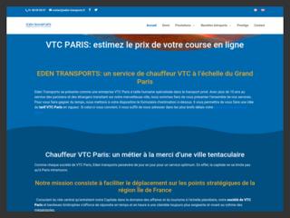 Société de VTC Paris - Eden Transports