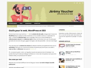 Jérémy Vaucher, rédacteur web et SEO