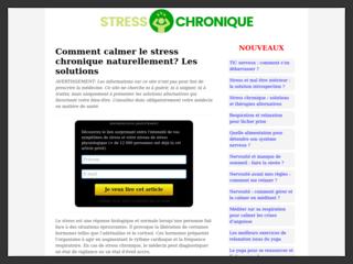 Le guide pratique pour soulager le stress chronique