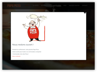 Papa Pizza, Vos pizzeria dans les Landes