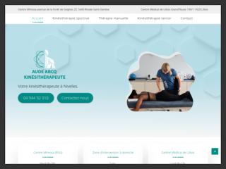 AUDE ARCQ : Cabinet kinésithérapie à Nivelles