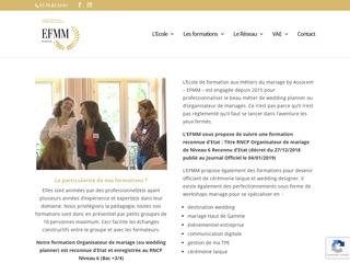 EFMM - Ecole de Formation aux Métiers du Mariage