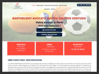 Cabinet d'avocat à Paris (8) de Maître Gautier Kertudo