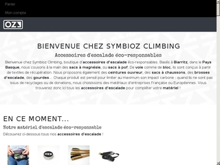 Symbioz Climbing | Accessoires d'escalade éco-responsables