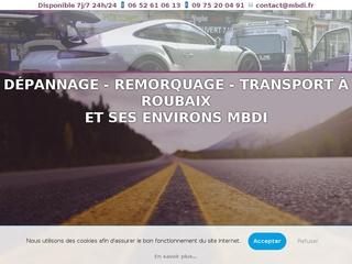 Dépannage Auto Remorquage Roubaix MBDI