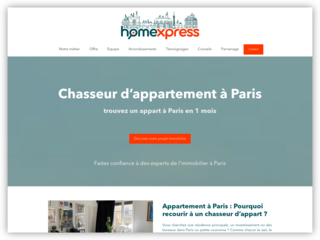 Homexpress le meilleur chasseur d'appartement à Paris