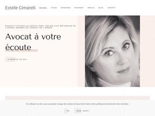 Cabinet Avocat Estelle Cimarelli