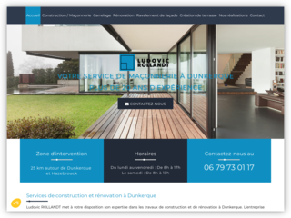 Ludovic Rollandt : Votre entreprise de maçonnerie à Dunkerque