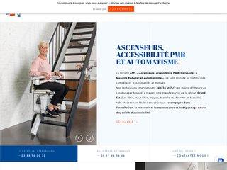 AMS Ascenseurs - Accessibilité PMR