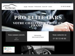 Votre chauffeur privé en Ile-de-France