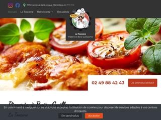 Pizza sur place Bois-Guillaume