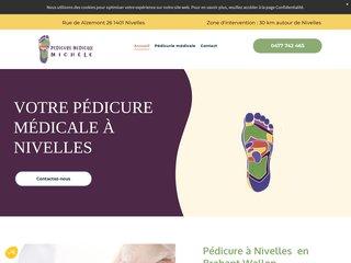 Pédicure à Nivelles  en Brabant Wallon