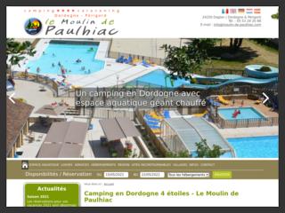 Camping 4 étoiles en Dordogne proche de Sarlat