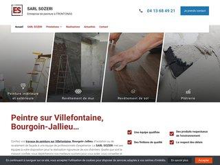 Entreprise SOZERI, spécialiste de la peinture près de Vienne
