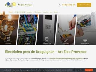 Intervention sur Draguignan pour de la rénovation électrique