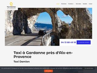 Un service de taxi assurant le transport vers les gares près de Gardanne
