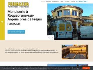 Contactez FERMAZUR pour la pose de volets roulants près de Fréjus