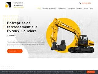 Jean Louis Dupont, entreprise de terrassement à Évreux