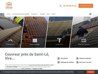 Bénéficiez du savoir-faire de spécialistes pour l'entretien de votre toiture sur Saint-Lô