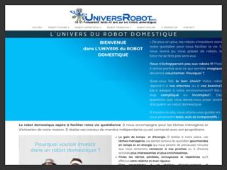 L'univers du robot domestique