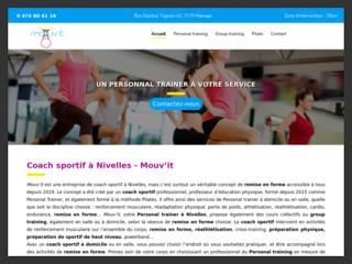 Des cours collectifs à Nivelles chez Mouv'it