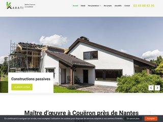 Intervention du maître d'œuvre KABATI près de Nantes