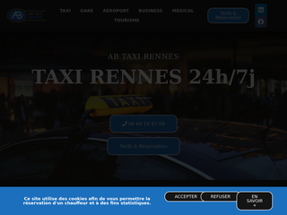 AB TAXI RENNES - TAXI RENNES 24h/7j