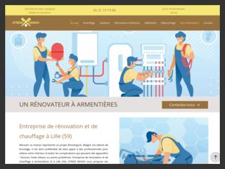 Travaux de rénovation intérieure à Lille