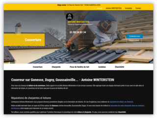 Un artisan couvreur expérimenté dans le domaine de la couverture sur Gonesse