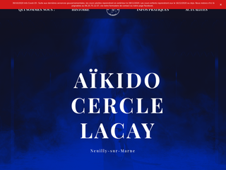 Aïkido Cercle Lacay - Neuilly sur Marne