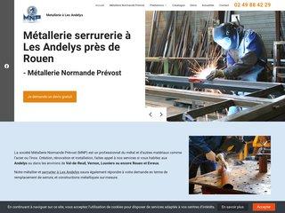MNP : votre professionnel du métal à Les Andelys
