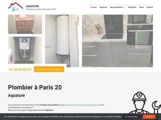 Bénéficiez du savoir-faire de votre entreprise de plomberie sur Paris 20