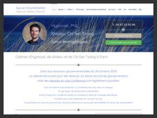 Sylvain Kolakowski, hypnothérapeute et magnétiseur à Paris