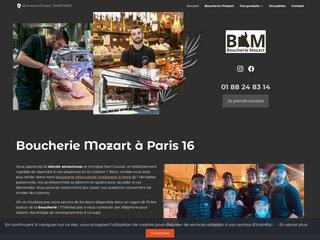 La boucherie Mozart à Paris 16 propose un service traiteur pour vos événements