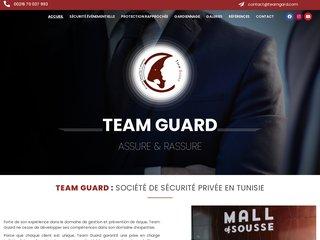Société de sécurité privée en Tunisie - Team Guard