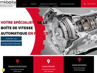Réparation boite automatique en Ile-de-France