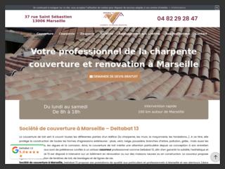 Pose de toiture à Marseille
