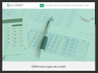 Tout savoir sur le crédit